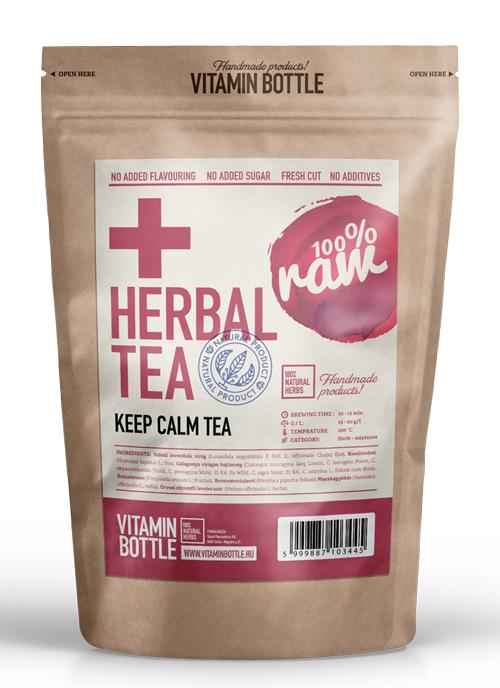 Nyugtató, stresszoldó gyógytea, Keep Calm tea 80 g